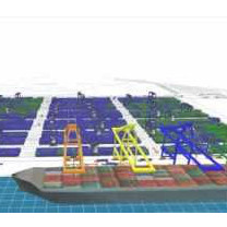 Container Terminal Simulation