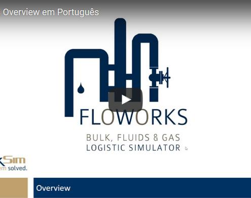 FlexSim FloWorks Brazil